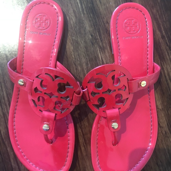 9d14b9481 Tory Burch Shoes - Tory Burch Miller Patent Red leather size 7